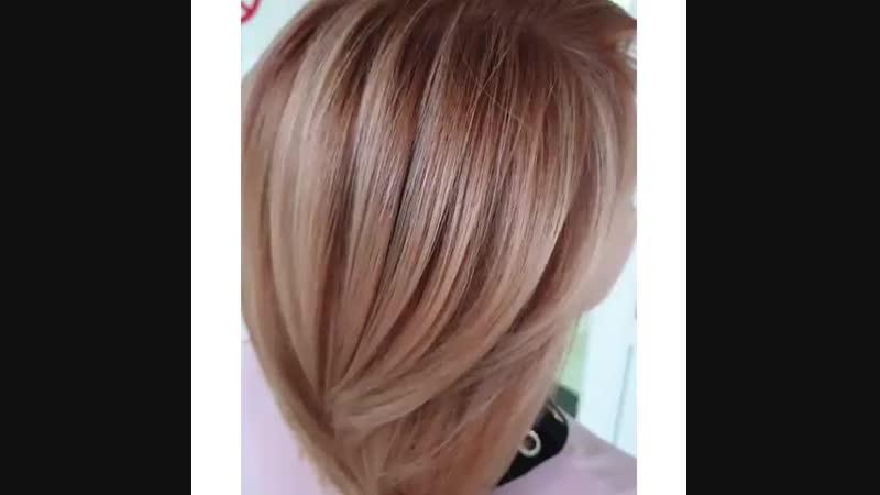 студентымиллерлучшие в Воронеже выполняли эту работу🙌  Техника Volume hair. ➡️Тон: It's color @ artego_russia 👉LVL10 (sand-coo