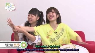 [ENG SUBS] Inami Anju karate punch on Gekkan Bushiroad TV!