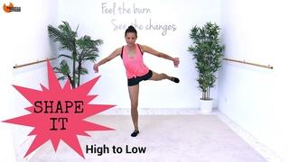 Linda Wooldridge - Total Body Workout Pilates Fusion Workout | Низкоударная тренировка в стиле пилатеса для всего тела