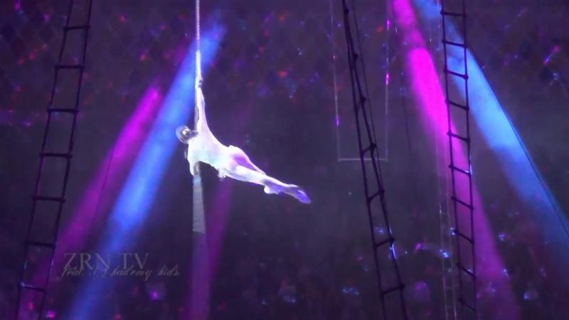 Цирк на льду. Казанский цирк. Ледовое шоу Айсберг. Воздушная акробатика на канате. Circus on ice