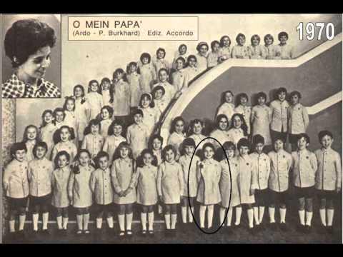 O MEIN PAPA (Piccolo Coro dellAntoniano - solista Cristina DAvena - 1970).wmv
