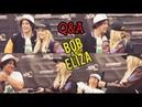 Q A with Bob Morley and Eliza Taylor in Conageddon2