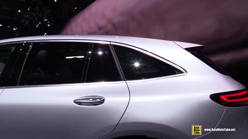 2019 Mercedes EQC 400 4Matic - Electric SUV Exterior, Interior Walkaround - 2018 Paris Mot