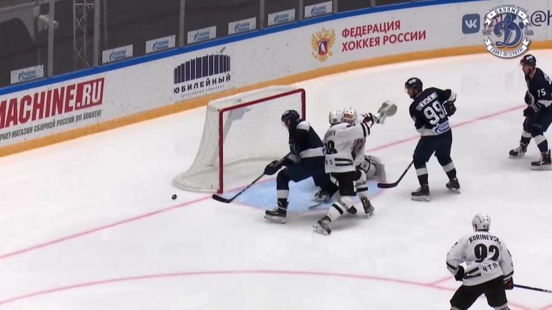 Динамо Санкт-Петербург - Челмет Челябинск 2-3 Б. ВХЛ. 04.10.2018