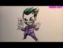 Vẽ Joker chibi Liên Quân Mobile-kẻ phản diện được yêu mến nhất