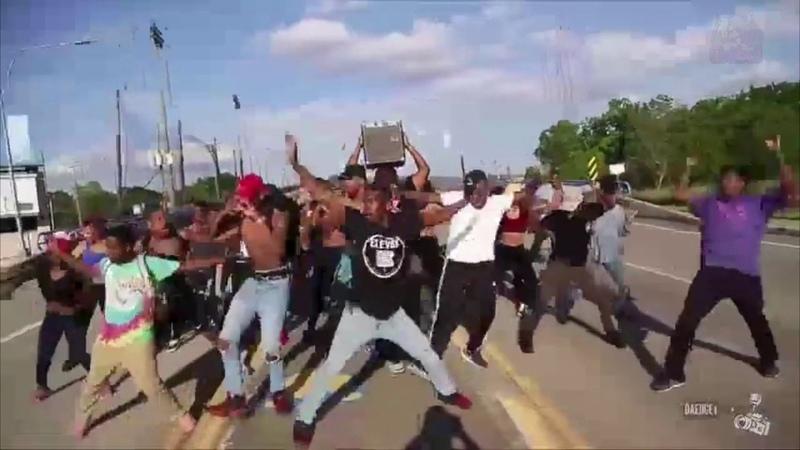 Black people dancing to anime music
