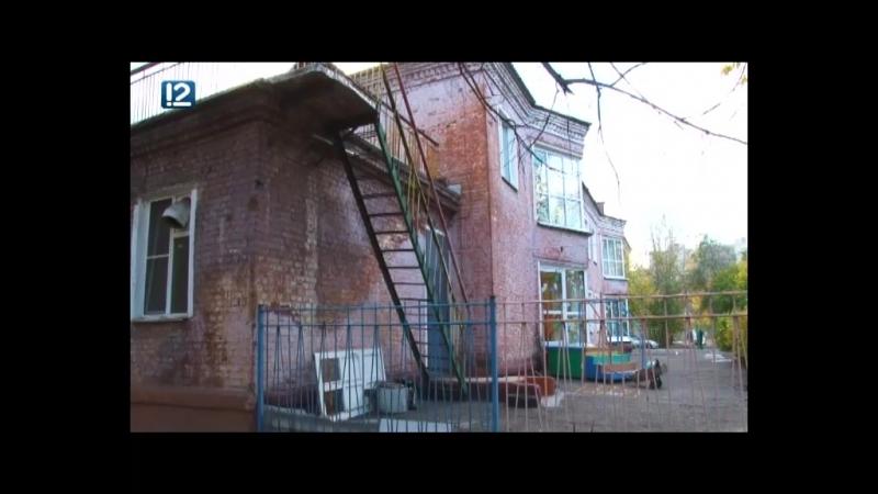 В одном из омских детсадов рушится крыша и валятся кирпичи