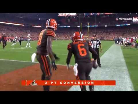 Baker Mayfield Trick Play 2-Pt Conversion Catch! | Jets vs. Browns | NFL