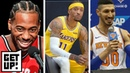 Enes Kanter Kawhi Leonard Michael Beasley made NBA media day hilarious Get Up ESPN