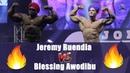 Jeremy Buendia Blessing Awodibu Guest Posing @ Olympia Amateur 2018