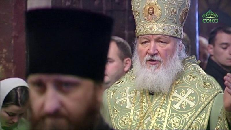 Божественная литургия из Саввино Сторожевского мужского монастыря Звенигорода