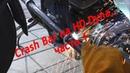Crash Bar on Harley-Davidson Dyna, Pt. 1