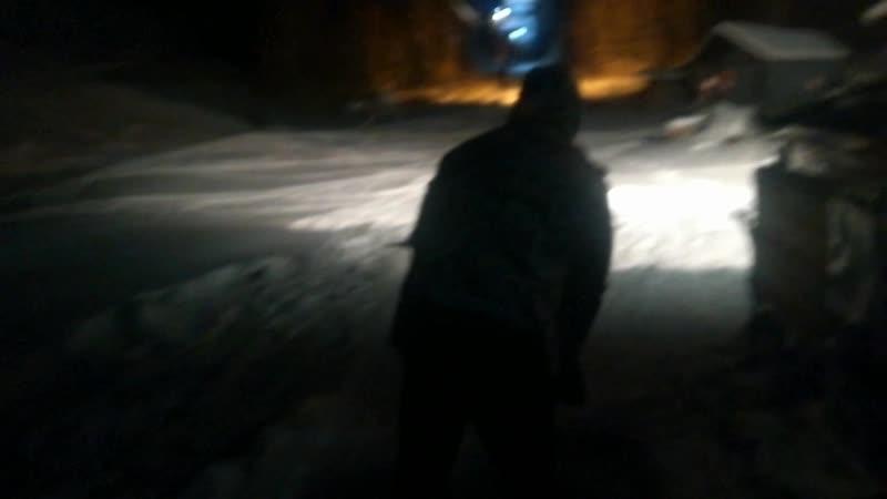 Школа сноубординга г.Братск! Бугельный подъёмник. Даниил, попытка №2 12/12/2018