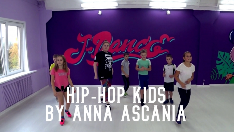 Hip-hop Kids By Anna Ascania (J-Dance Studio)