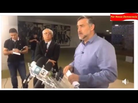 Ao Vivo Em coletiva de Imprensa Paulo Pimenta mostra que Lava Jato mentiu sobre o PSDB.