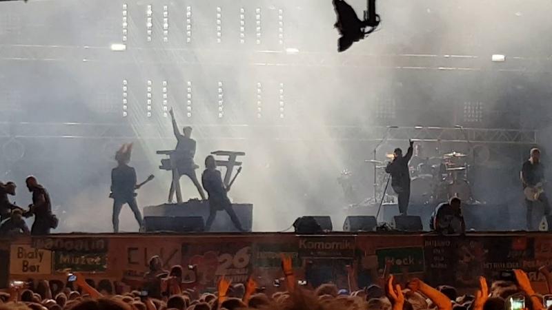 In Flames- IntroMy Sweet Shadow(Pol'and'rock Festival 2018/ Kostrzyn n/ Odra (HaltestelleWoodstock)