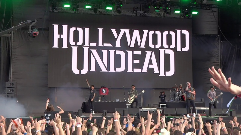 Hollywood Undead California Dreaming @Live in Volt Festival Sopron