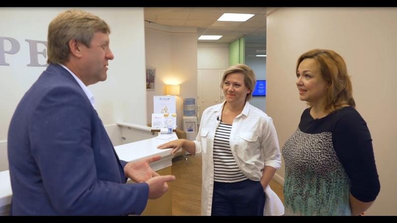 О клинике АСТРЕЯ рассказывает генеральный директор Герасимов Дмитрий Анатольевич