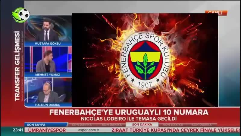 Fenerbahçe Transfer Gelişmeleri_⁄ Nicolas Lodeiro Geliyor Mu؟