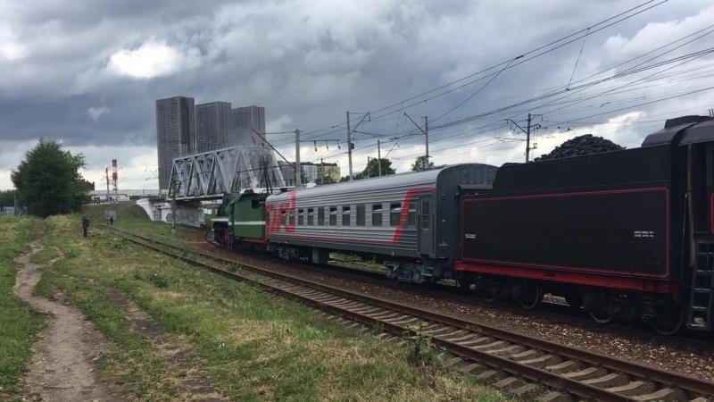 Исторический поезд Марьина роща