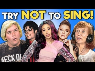 GENERATIONS REACT TO TRY NOT TO SING ALONG CHALLENGE #2 (Favorite Songs Game!)