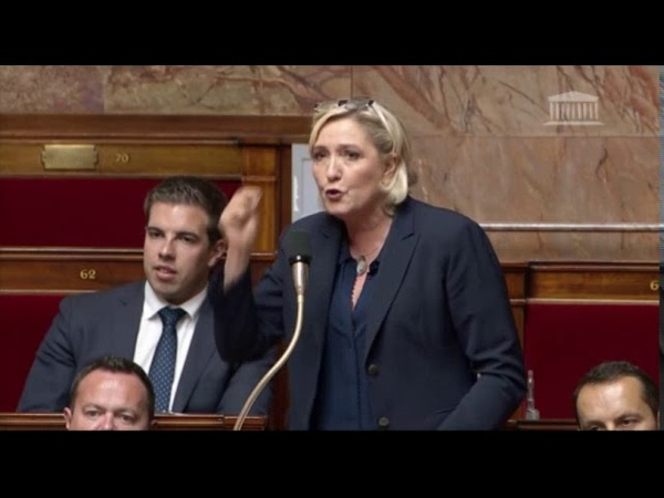 Marine Le Pen intervient sur la PPL Fake News