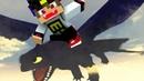 ВАМПИР НАШЕЛ ДРАКОНА ОКОЛО ДЕРЕВНИ Майнкрафт Выживание Мультик для детей видео Minecraft