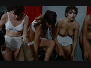 Изнасилование девушек в нацистском лагере (фашисты насилуют женщин, голые девушки в лагере, групповое изнасилование)
