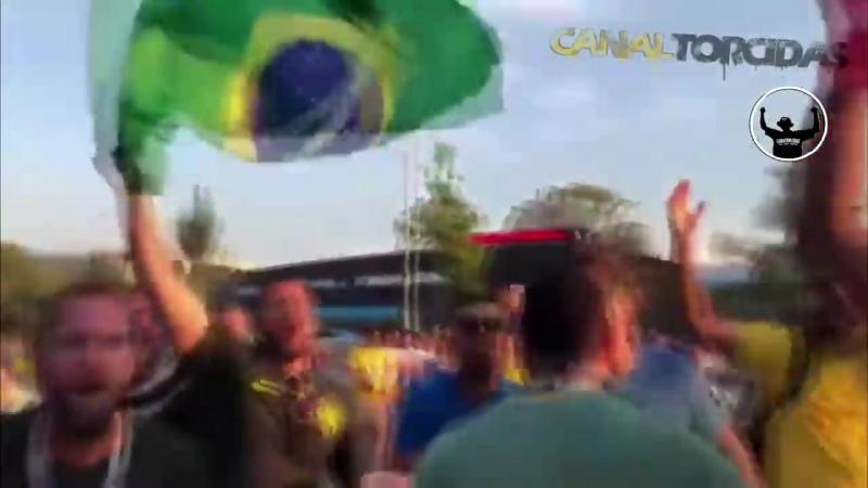 MESSI TCHAU Torcida do Brasil na Copa na Rússia faz paródia de Bella Ciao