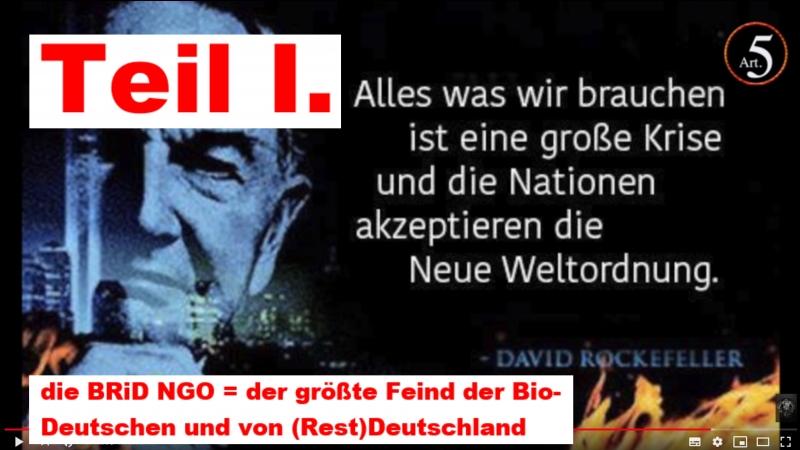 Teil I. die BRiD NGO = der größte Feind der Bio-Deutschen und von (Rest)Deutschland