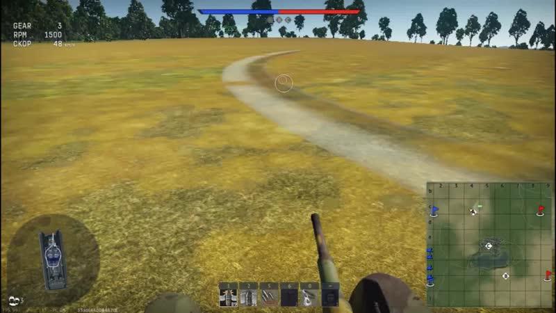 Уничтожение FlaK 88