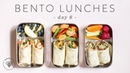 3 (Healthier) BENTO BOX Lunch Ideas 🐝 DAY 8