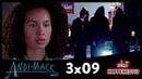 ANDI MACK 3x09 Recap Secret Society Wedding Dresses 3x10 Promo What Happened