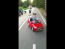 Настя гонщика