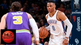Oklahoma City Thunder vs Utah Jazz Full Game Highlights 12.10.2018, NBA Season