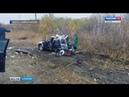 В автокатастрофе в Марксовском районе погибли 2 человека
