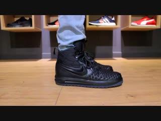 Nike lunar force 1 duckboot 17 black onfeet review - sneakers.by