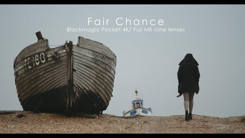 A Fair Chance Blackmagic Pocket 4K Fuji MK cine lenses