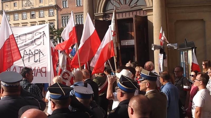 памяти варшавского восстания