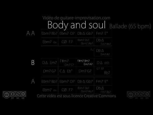 BODY AND SOUL A Classic Jazz Standard