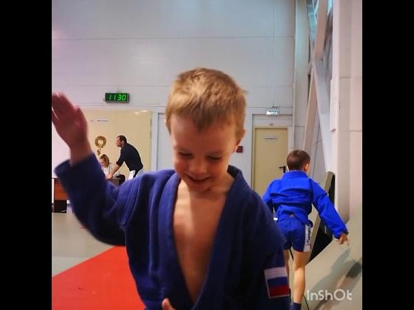 ВЛОГ: Алексеев Матвей - один день из жизни маленького самбиста, чемпионат по самбо 2017,финал