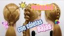 Peinados con Coletas Bajas by Belleza sin Limites