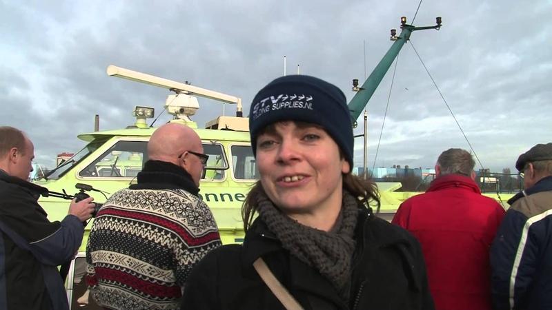 Laatste rit voor Fast Flying Ferry наши Восходы в Голландии