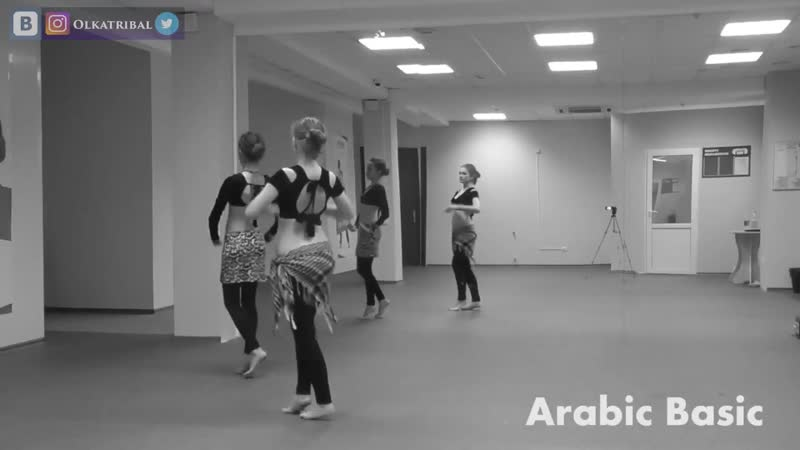 ATS® drills. Fast Moves: Arabic Basic, Shimmy Basic, Egyprian Basic, Pivot Bumps \ Трайбл-практика @ Just do TRIBAL 32