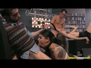 Gina valentina, jake adams, samantha hayes may the sluttiest win [all sex, blowjob, group, facial, 1080p]