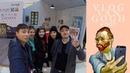 Secret book store in Wuhan ( Van Gogh in the town )