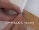 Монтаж панелей МДФ и пластиковых панелей на стену wmv