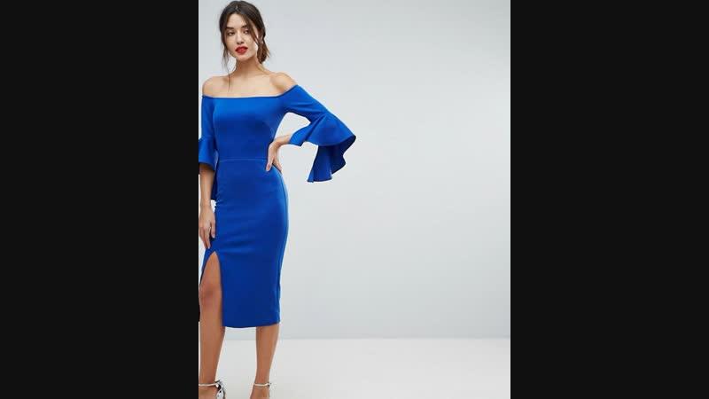 True Violet Blue Dress