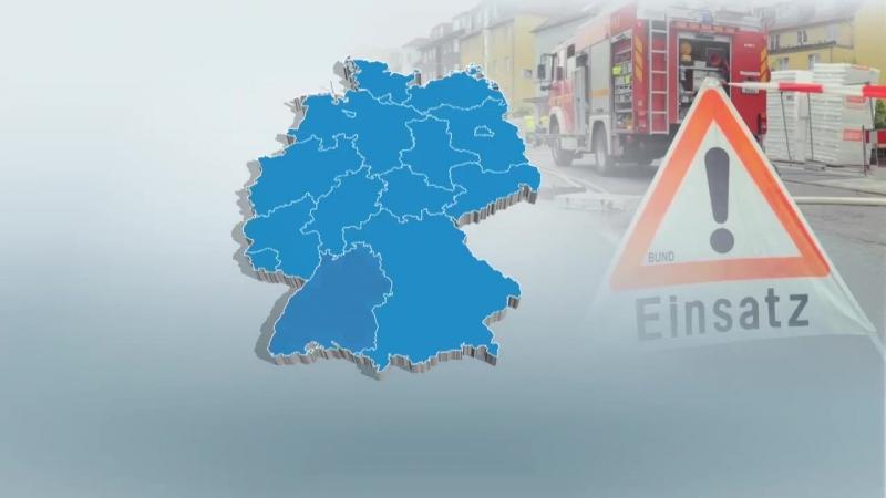 LAND UNTER Gewitter und Unwetter halten Teile Deutschands weiter fest im Griff