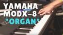 Yamaha MODX-8 Organ Kamil Barański demo By Muzykuj